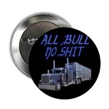 """All Bull No Shit 2.25"""" Button (10 pack)"""