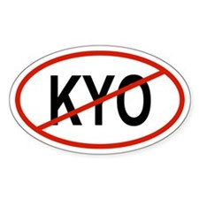 KYO Oval Decal