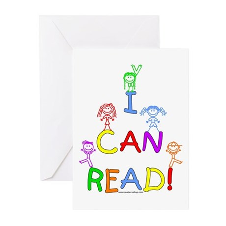 I Can Read 1 Greeting Cards (Pk of 10)
