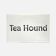 Tea Hound Rectangle Magnet