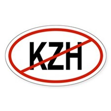 KZH Oval Decal
