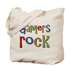 Gamers Rock RPG Video Geek Tote Bag
