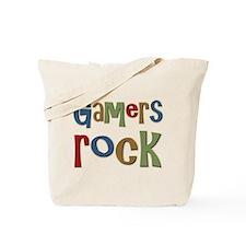 Gamers Rock RPG Video Geek Tote Bag