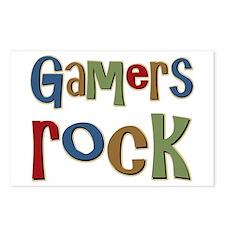 Gamers Rock RPG Video Geek Postcards (Package of 8