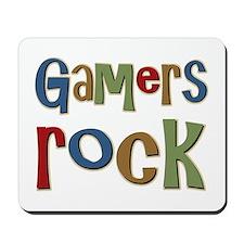Gamers Rock RPG Video Geek Mousepad