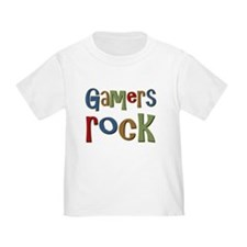 Gamers Rock RPG Video Geek T