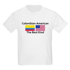 Colombian American-the Best K T-Shirt
