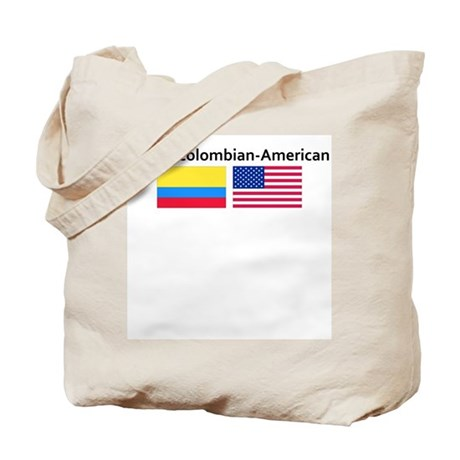 Proud Colombian American Tote Bag