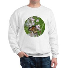 Monarch on Wild Asters Sweatshirt