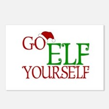 Go Elf Yourself Postcards (Package of 8)