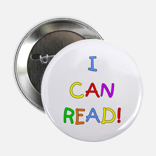 """I Can Read 2 2.25"""" Button"""