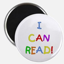 I Can Read 2 Magnet