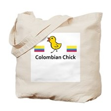 Colombian Chick Tote Bag