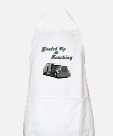 Loaded Up & Trucking BBQ Apron