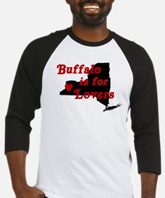 Bflo is for Lovers Baseball Jersey