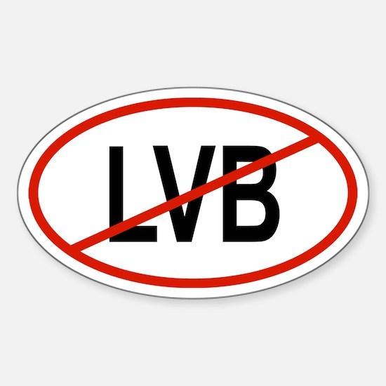 LVB Oval Decal