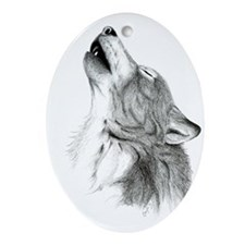 Howl Oval Ornament