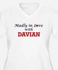 Madly in love with Davian Plus Size T-Shirt