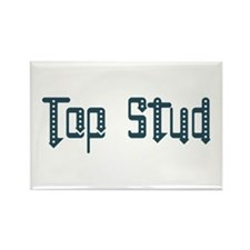 Top Stud Rectangle Magnet