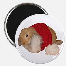 """Xmas Bunny 1"" Magnet"