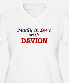 Madly in love with Davion Plus Size T-Shirt