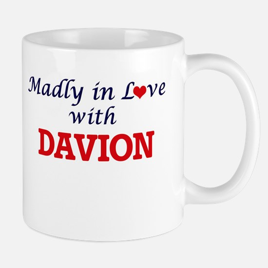Madly in love with Davion Mugs