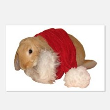 """""""Xmas Bunny 1"""" Postcards (Package of 8)"""