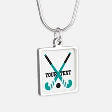 Field Hockey personalized cute Necklaces