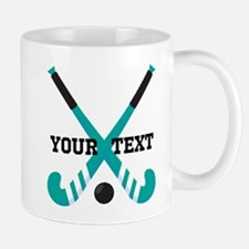 Field Hockey personalized cute Mugs