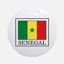 Senegal Round Ornament