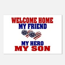 welcome home my son Postcards (Package of 8)