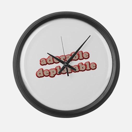 AD Large Wall Clock