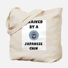 Trained by a Chin Tote Bag