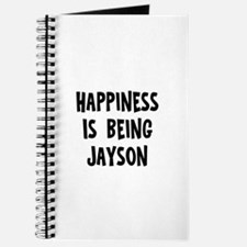 Happiness is being Jayson Journal