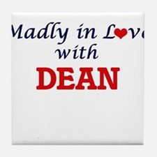 Madly in love with Dean Tile Coaster