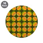 "Mod Polka Dot Retro 3.5"" Button (10 pack)"
