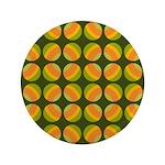 """Mod Polka Dot Retro 3.5"""" Button"""