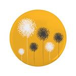 "Modern Dandelion Art 3.5"" Button"