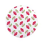 "Cherries Pattern 3.5"" Button (100 pack)"