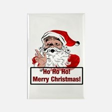 Santa Clause Rectangle Magnet