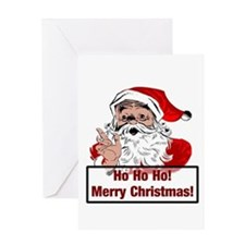 Santa Clause Greeting Card