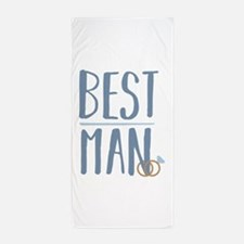 Best Man Beach Towel