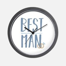 Best Man Wall Clock