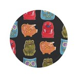 "Retro Vintage Toy 3.5"" Button (100 pack)"
