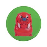 "Vintage Toy Walrus 3.5"" Button (100 pack)"