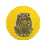 "Vintage Toy Frog Art 3.5"" Button (100 pack)"