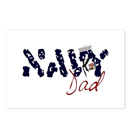 Navy Dad Postcards (Package of 8)