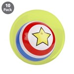 "Toy Ball Vintage Print 3.5"" Button (10 pack)"