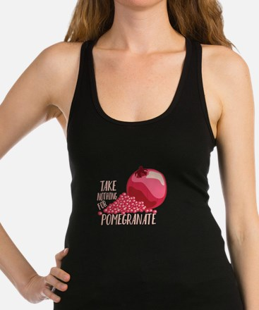 For Pomegranate Racerback Tank Top