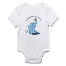 Mommy's little peanut - blue Infant Bodysuit